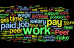 Word Cloud of Peer Support Responses about Compensation